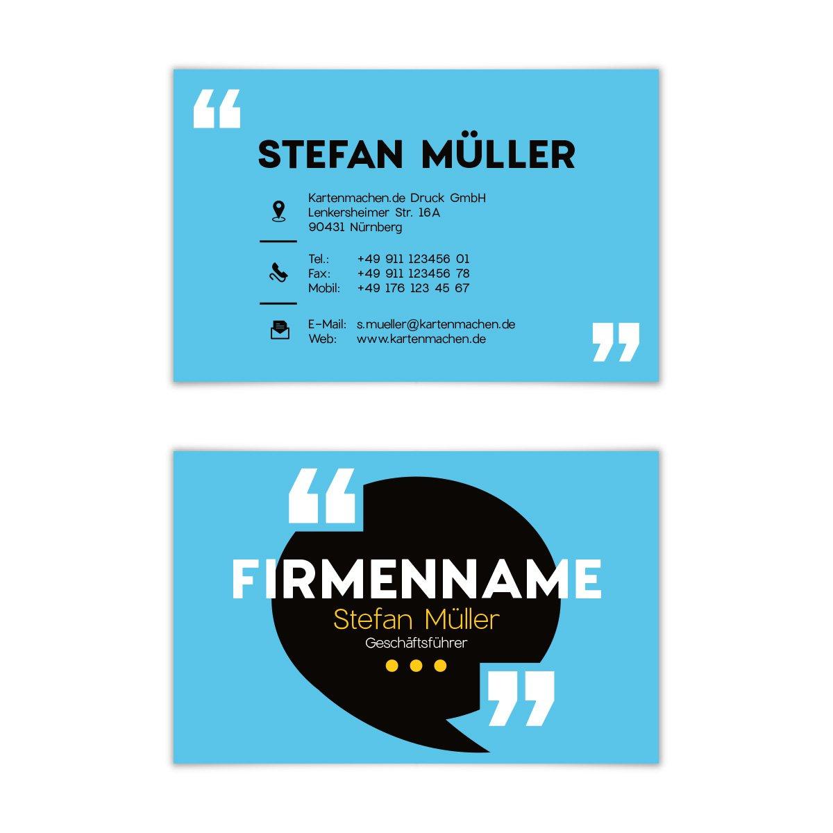 500 x Visitenkarten individuell Business Karten 300g qm 85 x 55 mm - rotakteur B07F7CJTDX | Zahlreiche In Vielfalt  | Marke  | Zart