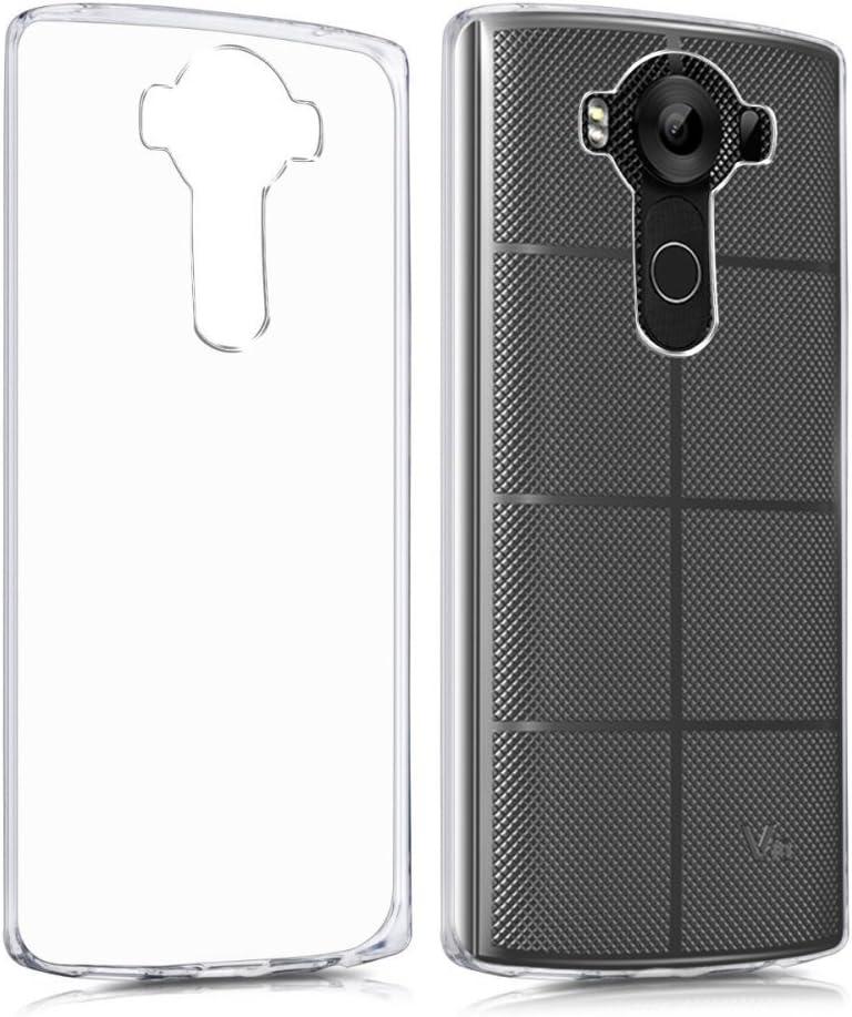 Funda Carcasa Gel Transparente para LG V10, Ultra Fina 0,33mm ...