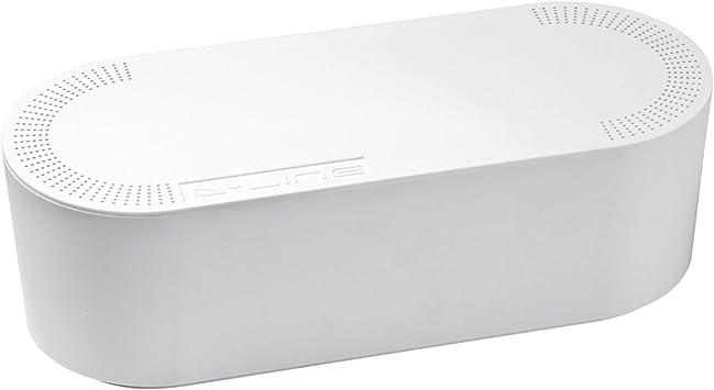 D-Line EU/CTULGEW/SW - Caja Organizadora de Cables, Blanco ...