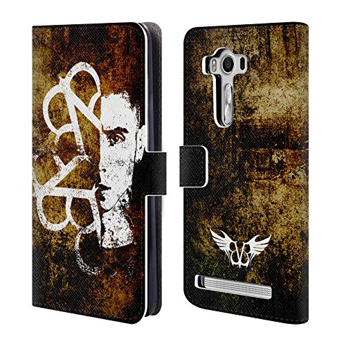Official Black Veil Brides Andy Band Art Leather Book Wallet Case Cover for Zenfone 2 Laser ZE550KL ()