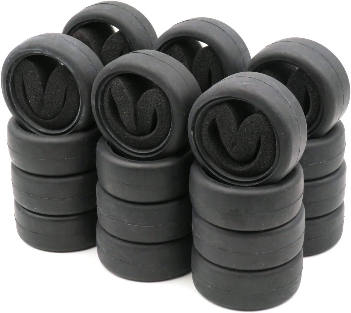 24pcs 1//10 on road Touring Tires /& hex 12mm Wheels rims For RC 1:10 Racing Car