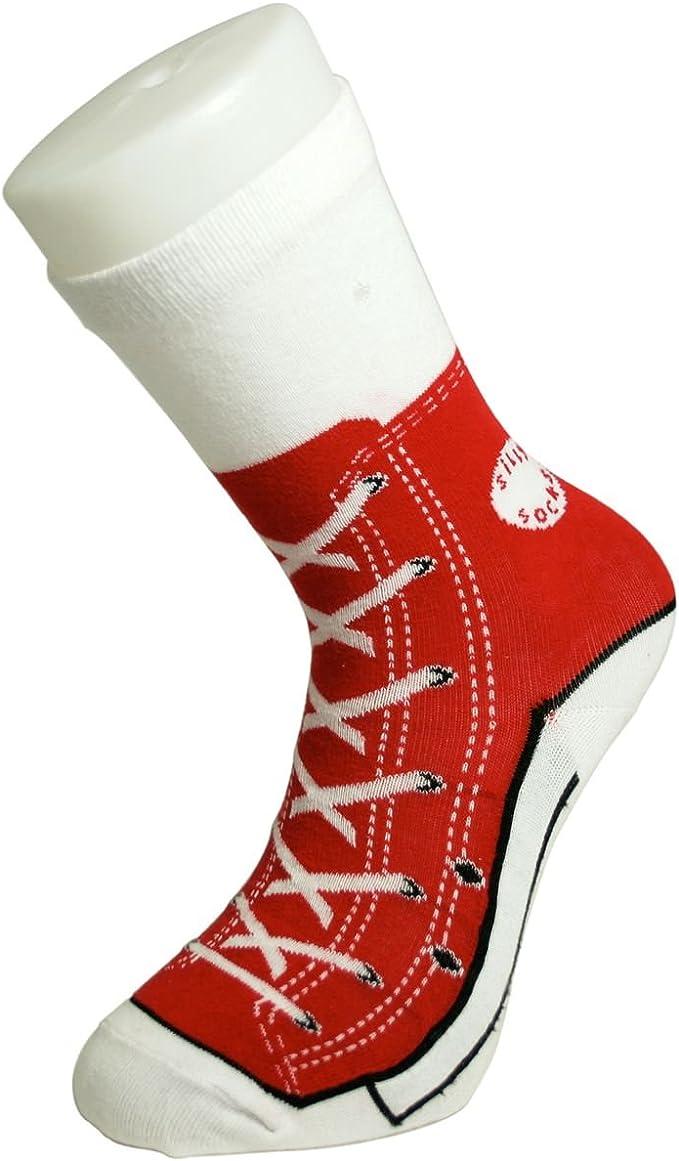 Flip Flop Silly Socks UK Size 3-7 Funny Novelty Gift Secret Santa Christmas
