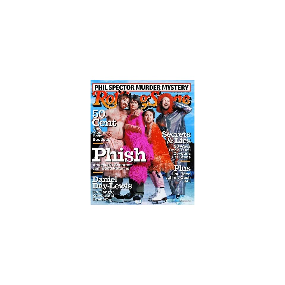 Phish, 2003 Rolling Stone Cover Poster by Martin Schoeller (9.00 x 11.00)