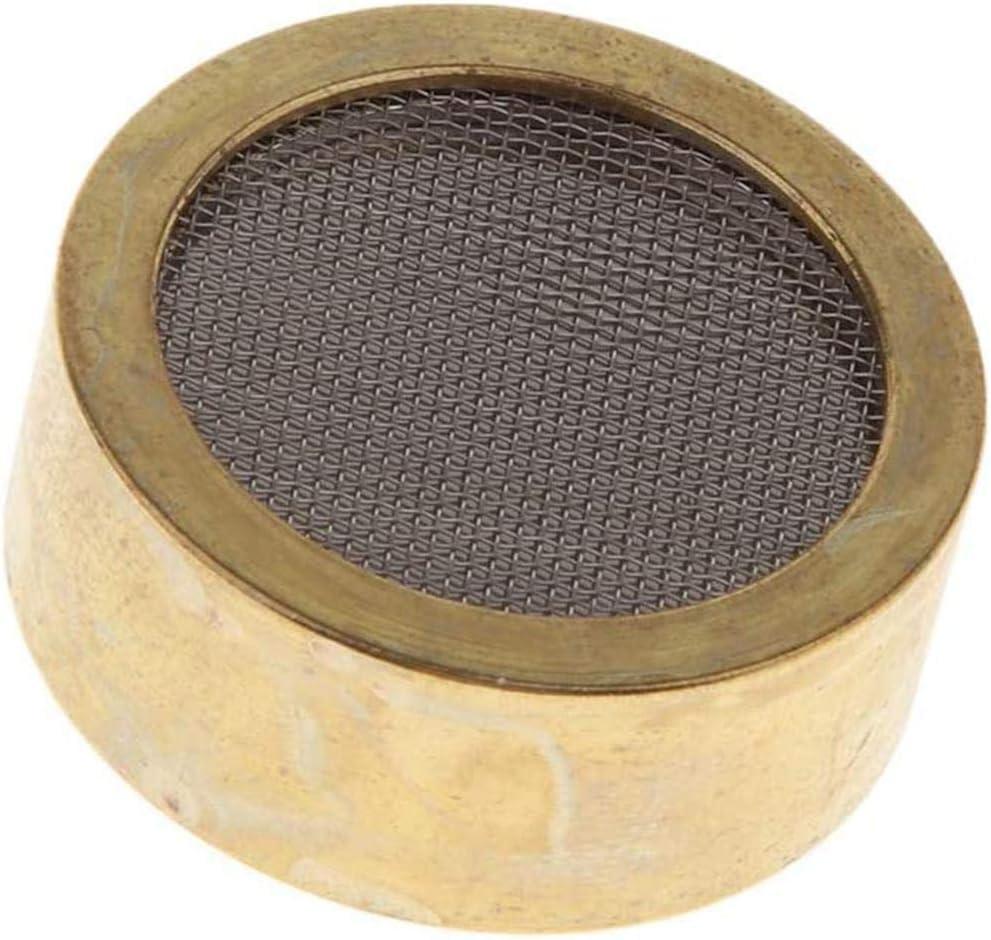 Micr/ófono de c/ápsula C/ápsula de micr/ófono de Condensador de aleaci/ón de Aluminio Cabeza de micr/ófono de Oro Core