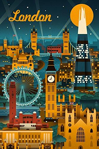london poster vintage - 1