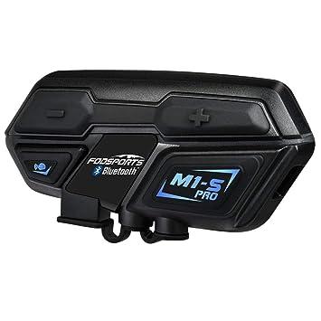 Moto Intercom Casque étanche Casque De Moto Intercom Interphone M1 S