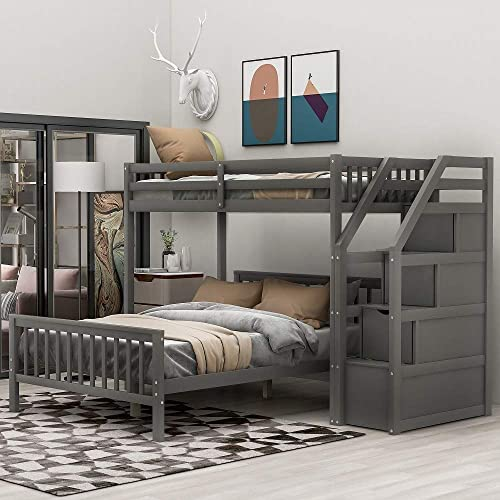Twin Over Full Loft Bed