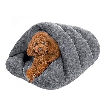 Amazon.com: Tmrow - Saco de dormir para mascotas, cama cueva ...
