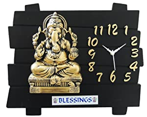 Panna RD Ganesha feeling Analog Wall Clock