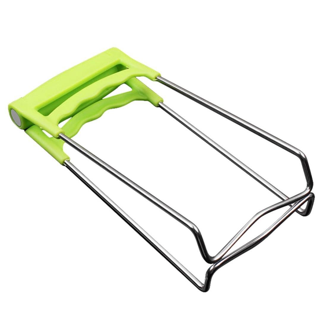 Amazon.com: Transer placa Pinza de cocina, acero inoxidable ...