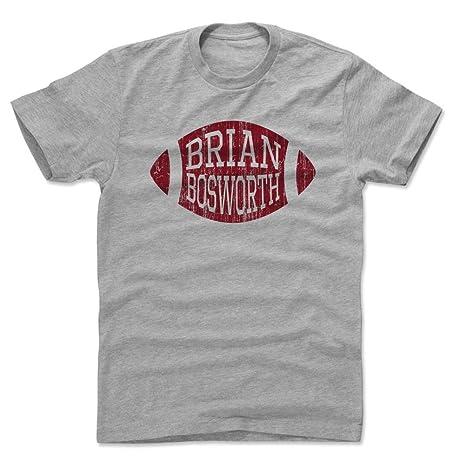 eeceaddba92 500 LEVEL Brian Bosworth Cotton Shirt XXX-Large Heather Gray - Vintage  Oklahoma Football Men's
