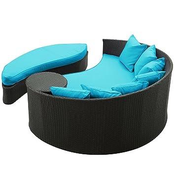 Amazon.com: Cama acolchada cama de día al aire última ...