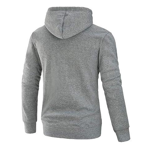 Internet_camisetas de hombre Sudadera con Capucha Camuflaje Manga Larga para Hombre Sudadera con Capucha Top Camiseta Outwear Blusa: Amazon.es: Ropa y ...