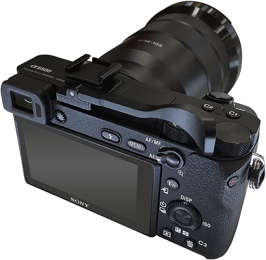 Olympus XZ-2 iHS E-PL2 Type-A; Black Olympus PEN E-PM2 fits: Fujifilm X100S X20 X-E1 X10 E-PM1 E-P3 Fotodiox Pro Thumb Grip for Mirrorless Digital Cameras Panasonic Lumix DMC-LX7 Pentax Q