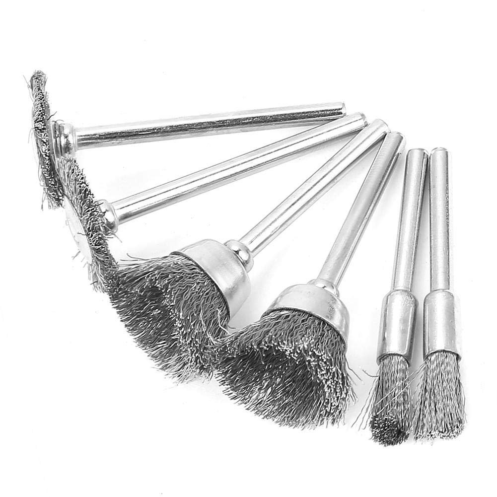 18Pcs Grinding Polishing Wheel Head Combination Wire Brush Steel Kit Set Grinder Accessories for Electric Drill