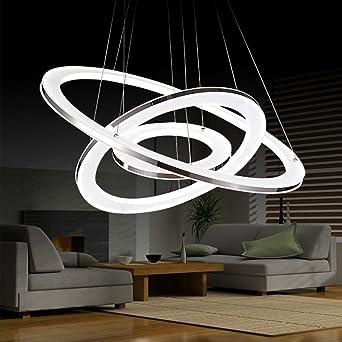 AuBergewohnlich WQW Modernes Wohnzimmer Kronleuchter, Restaurant Schlafzimmer Studie Führte  Acryl Abgerundete Kronleuchter Beleuchtung (Größe: