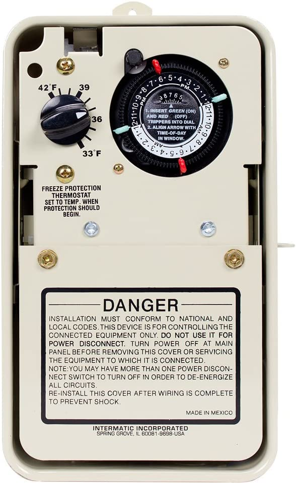 Beige Intermatic PF1102T Freeze Protection Control