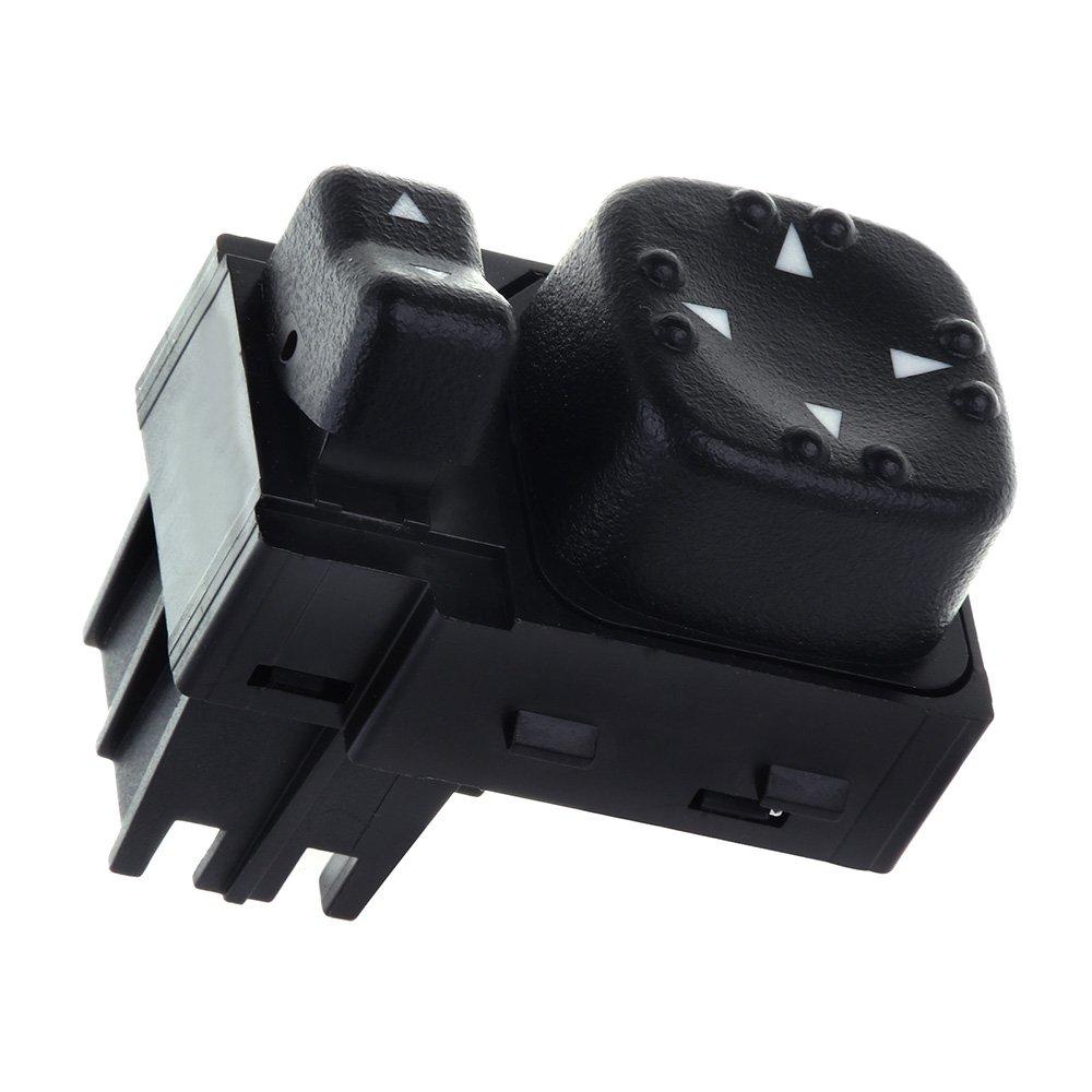 Power Mirror Switch Replacement fit for 1500 2500 2000-2002 Chevy Silverado 1500 1500HD 2500 2500HD 3500 Suburban 1500 2500 2000-2002 GMC Sierra 1500 2500 2000-2002 GMC Yukon XL 1500 2500 cciyu 123744-5210-1620475111