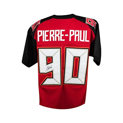 Image Unavailable. Image not available for. Color  Jason Pierre-Paul  Autographed Tampa Bay Buccaneers Custom Football Jersey JSA 364ee462d