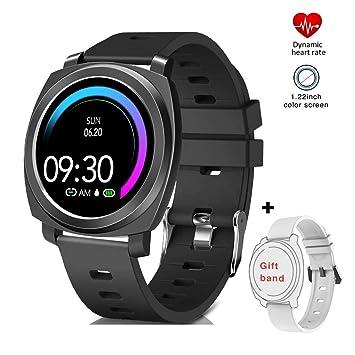 EUMI Smartwatch Reloj Inteligente Funciones Específicas para Mujer Ciclo Menstrual Embarazo y Posparto IP67 10 modos de Deporte Pulsómetro Presión ...