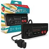 "Hyperkin ""Cadet Premium-Controlador para NES (Negro)"