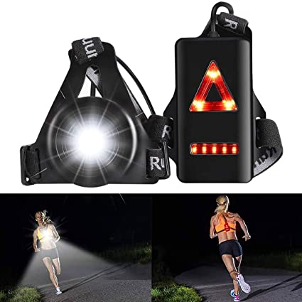 Outdoor Night Running Cycling Safety Warning Wrist Bands LED Light Armband Strap