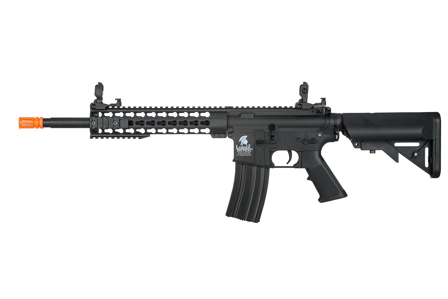 Lancer Tactical G2 Airsoft LT-19B M4 Carbine 10'' AEG Rifle - BLACK by Lancer Tactical