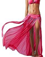 Mansy Women's Sexy Gauze Beach Maxi Skirt Beach Cover ups