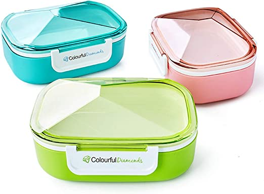Caja de almuerzo reutilizable, Cajas Bento reutilizables con ...