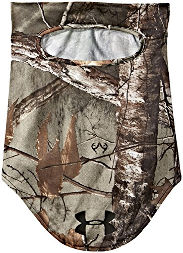 Under Armour Unisex Scent Control Hunt Mask, Realtree Ap-Xtra /Black, One Size