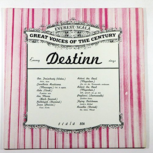 Emmy Destinn Sings (Great Voices of the - Mall Destin