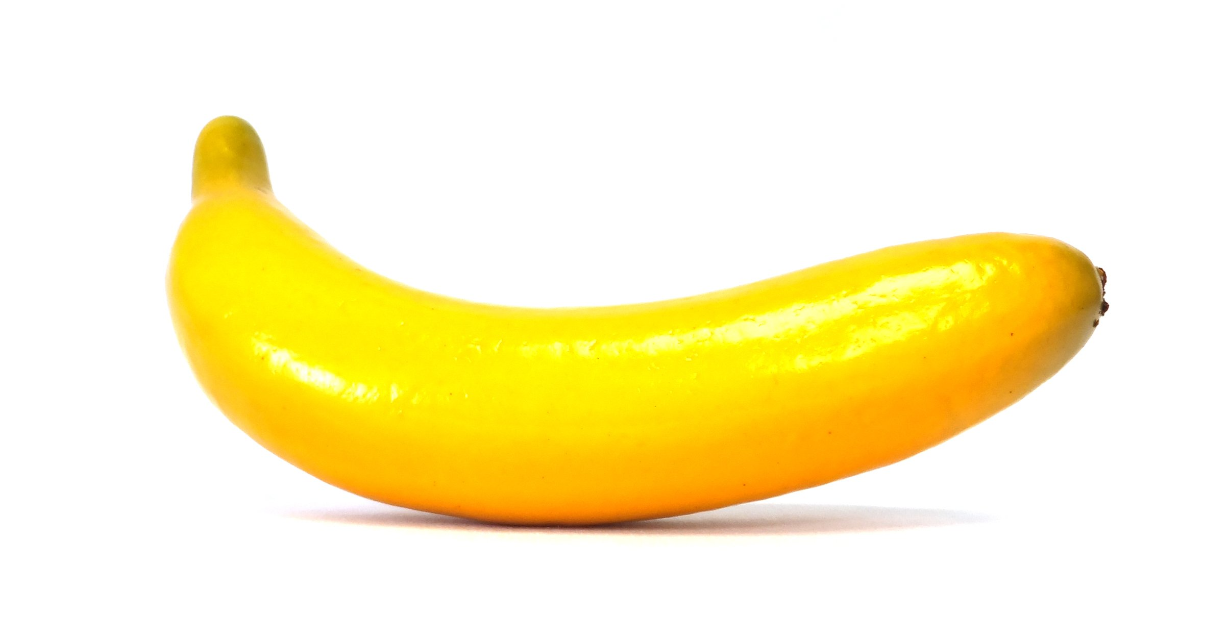 6pc Artificial Banana Bananas - Plastic Yellow Decorative Fruit - Six Pieces by Viabella (Image #2)