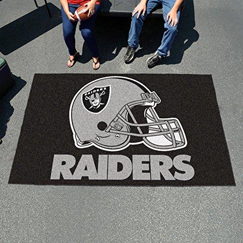 Fan Mats 5940 NFL - Oakland Raiders 5' x 8' Ulti-Mat Area Rug / Mat