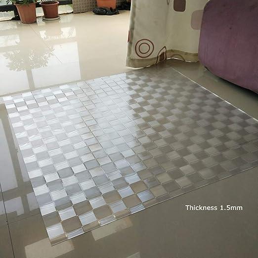 Amazon Com Ssok Rugs Plastic Floor Mat For Office Chair Pvc
