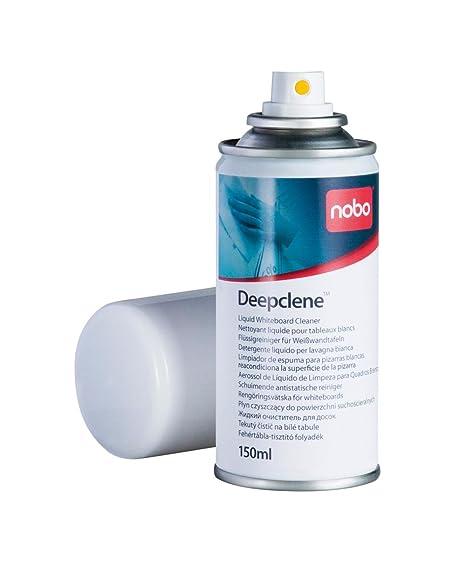 Nobo Deepclene Spray de Limpieza para Pizarra Blanca, 150 ml, 34533943
