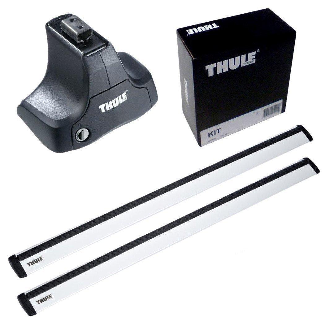 THULE スーリー ベースキャリアセット 754+969+1756 プジョー 308 5ドア/SWルーフレールなし 2014-754+969+1756 B01MZ621OE