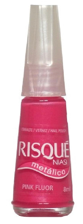 Amazon.com: RISQUÉ | Metálico - Pink FLUOR 8ml | Esmalte / Verniz / Nail Polish: Beauty