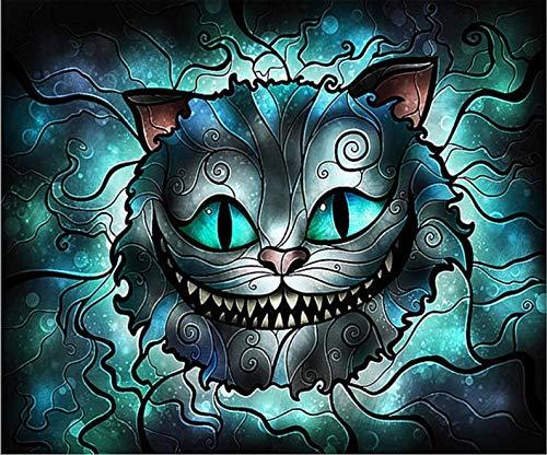 - Cheshire CAT FACE Diamond Painting 5D Diamond Embroidery Paint with Diamonds Kit Diamond Dotz Painting Diamond Cross Stitch 40cm X 30cm