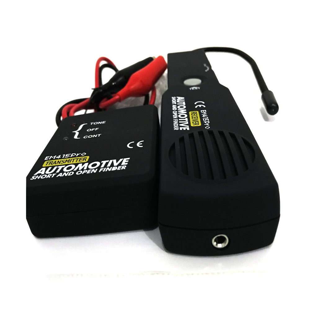 Em415pro Cable Tracker Automotive Wire Tester Short Open Circuit Finder Car Detector Repair Vehicle Checker Device Diagnostic Tool Set Dc 6 42v Amazon