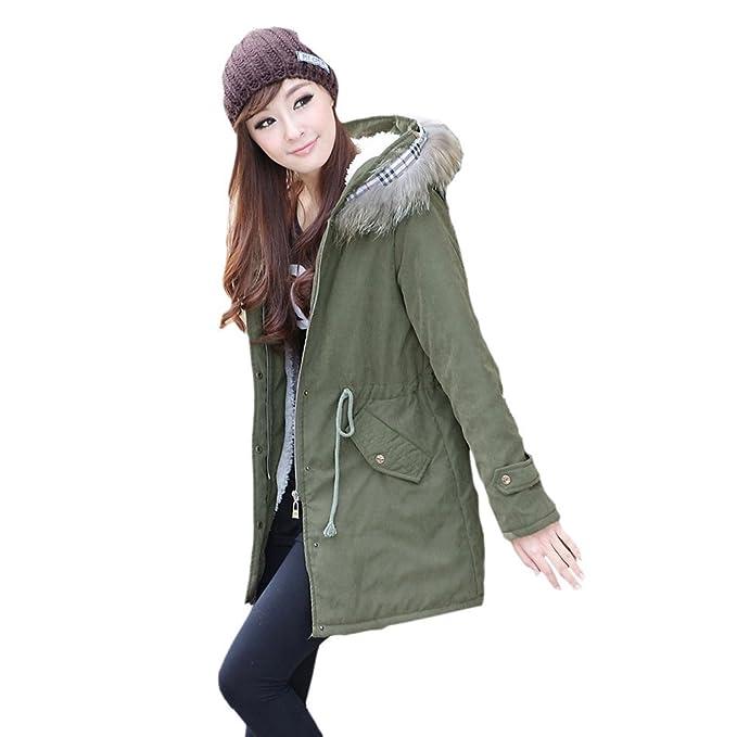 Zicac Fashion adultos y niños de padres Niños de Santa Claus verdicken calientes chaqueta de invierno