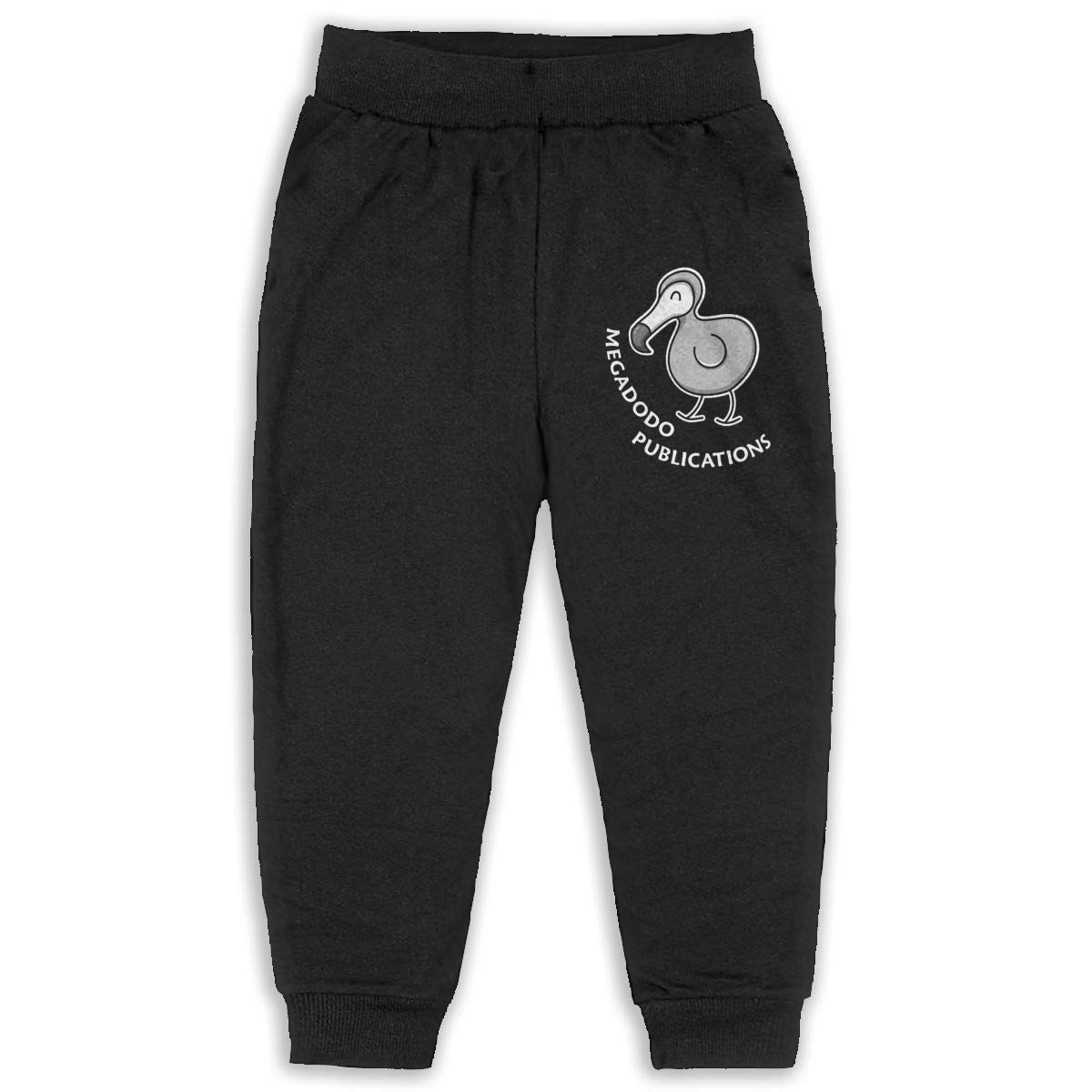 Laoyaotequ Megadodo Publications Kids Cotton Sweatpants,Jogger Long Jersey Sweatpants
