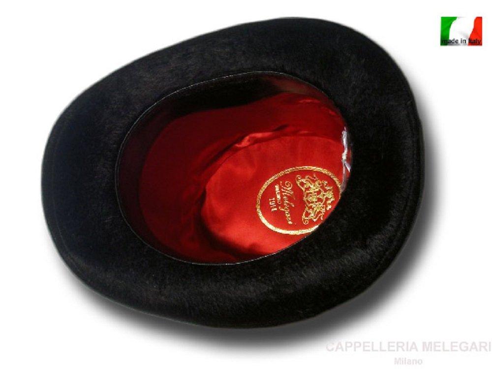 Cappello a cilindro a tuba Verdi 19 cm Melousine  Amazon.it  Handmade 7ac91952bd66