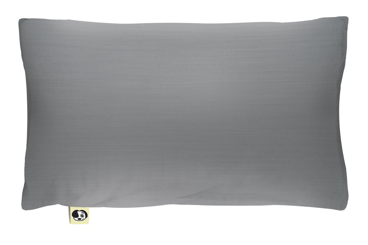 The Shrunks Natural Fibre - Water-proof Toddler Pillow and Cover, Grey by The Shrunks (Image #1)