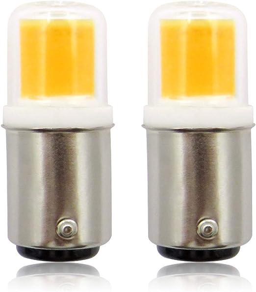 BA15D Bombillas LED, 220 V 4 W COB Pygmy Bombilla, casquillo de ...