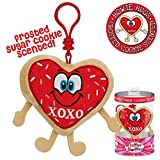 Whiffer Sniffers Howie Hugs Limited Edition Valentine's Scented Backpack Clip
