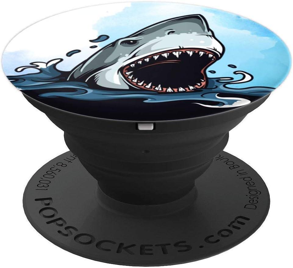 Great White Shark In Ocean Shark Lovers