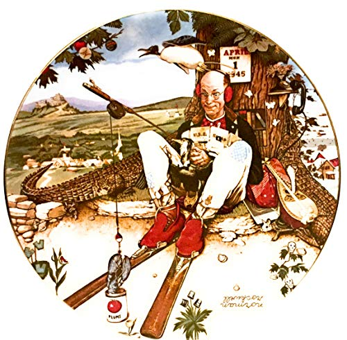 The Ghent Collection Norman Rockwell 1980 April Fool