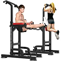 Power Tower Pull Up Dip Station for Home Gym Multi-Function Height Strength Training Workout Equipment