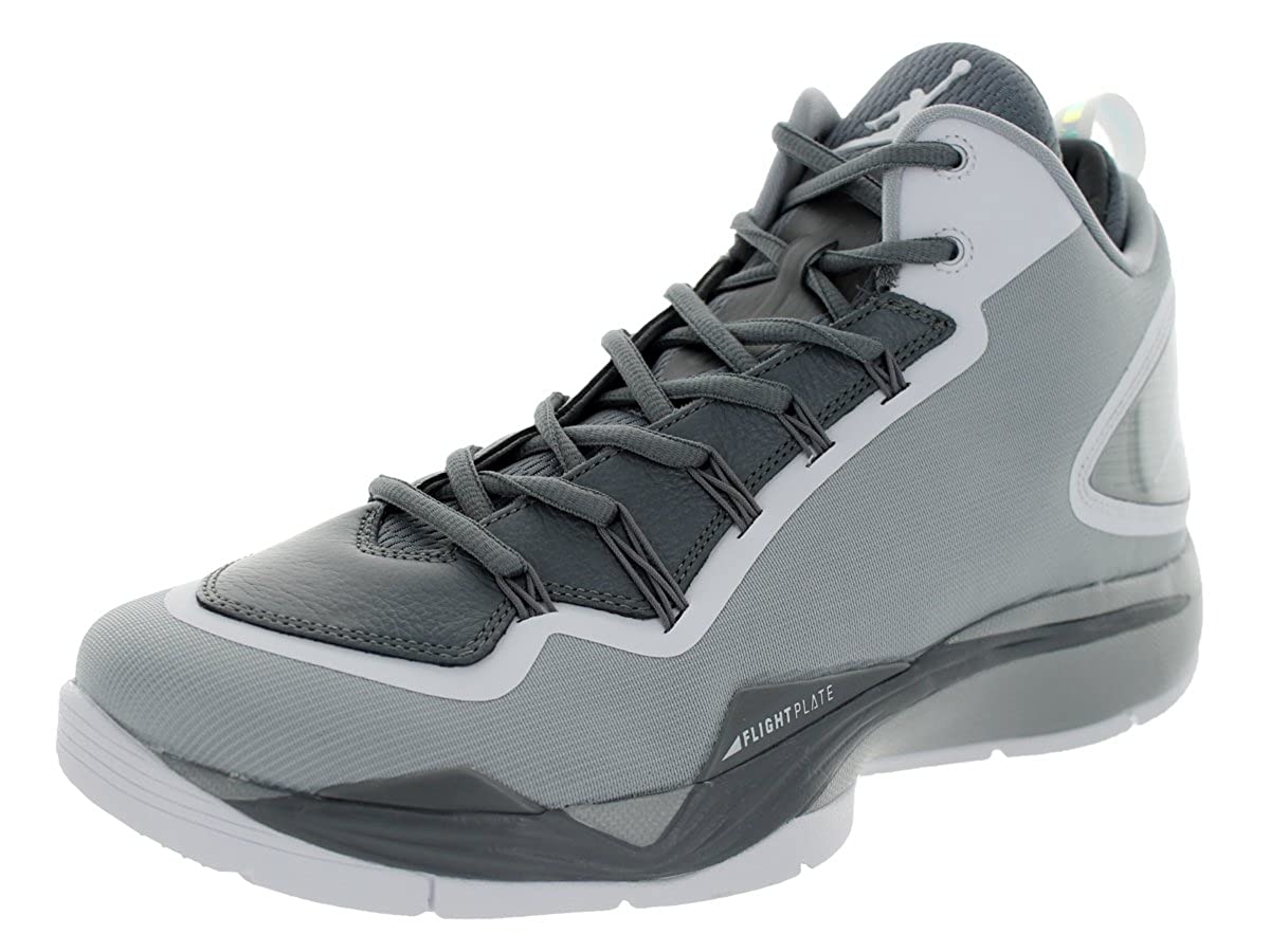 942c6b0cf9eeb Amazon.com | Jordan Nike Men's Super.Fly 2 PO Wolf Grey/White/Cool ...