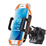 Bike Phone Holder Mount Universal, FOGEEK Rubber Silicone Strap For iOS Android Smartphone GPS Or Other Devices